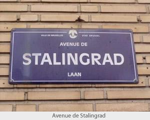 Проспект Сталинграда, Брюссель, Бельгия