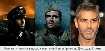 Романтические герои: капитаны Кан и Громов, Джордж Клуни